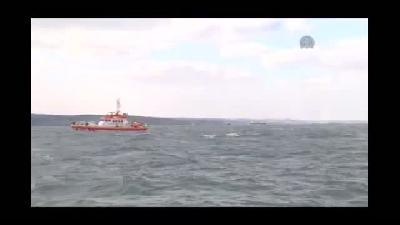 Boğaz'daki tekne kazası - AA denizden olay yerini görüntüledi - İSTANBUL