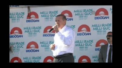 """Erdoğan: """"Demokrasinin tokadı farklıdır"""" - MALATYA"""