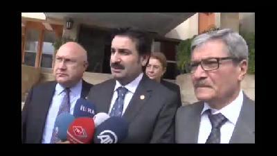 TBMM İnsan Haklarını İnceleme Komisyonu üyeleri Mardin'de