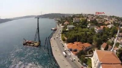 İstanbul Boğazı, Emirgan'da 8 Metre Daralıyor