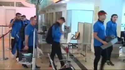 (görüntülü Haber) Trabzonspor Manisa'ya Gitti