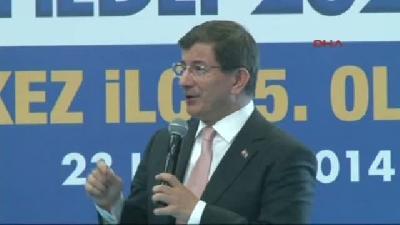 Başbakan Ahmet Davutoğlu Akp Tunceli Merkez İlçe Kongresi'nde Konuştu