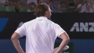 Dünyanın ne komik tenis maçı