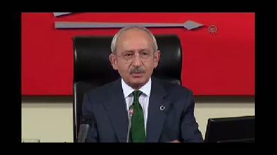 """Kılıçdaroğlu: """"Parti ile devletin iç içe geçtiğini görüyoruz"""" - ANKARA"""