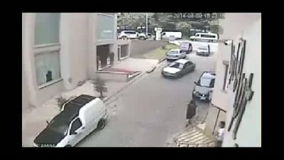 Hırsızlık anı güvenlik kamerasında - KOCAELİ