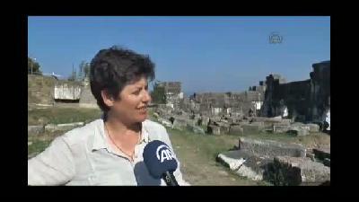 """Karadeniz'in """"Efes""""i gün yüzüne çıkıyor - DÜZCE"""
