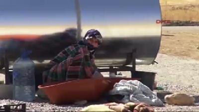 Silopi Ve Cizre'ye Gelen Ezidilerin Sayısı Bin 5(fotoğraflı)(fotoğraflı)'ü Buldu