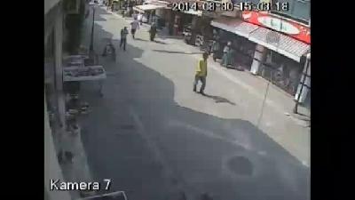 Kazı anı güvenlik kamerasında - SAKARYA