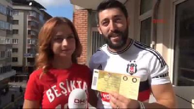 Fanatik Çiftin Beşiktaşlı Düğün Davetiyesi