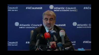 Atlantik Konseyi Enerji ve Ekonomi Zirvesi - Bakan Yıldız - İSTANBUL