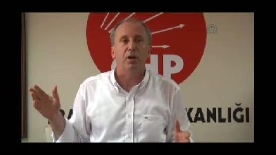 """İnce: """"Konuşan, solcu, devrimci Cumhuriyet Halk Partisi istiyorum"""" - TRABZON"""