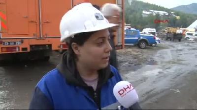 2- Mahsur Kalan İşçileri Kurtarma Çalışmaları Sabaha Kadar Aralıksız Sürdü