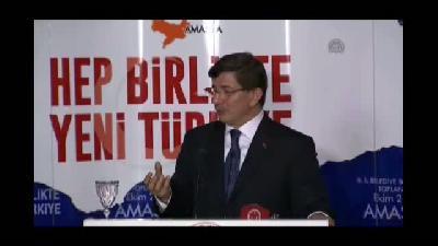 """Davutoğlu: """"Amasya'nın bütün özellikleri gelecek nesillere aktarılacak"""" - AMASYA"""