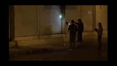 AK Parti ilçe binasına saldırı