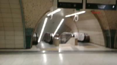 Seyrantepe Metroda İnanılmaz Kaza (2)