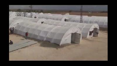 Suriyeli Kürt aileler, kamplarda yaşama tutunuyor - ŞANLIURFA