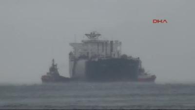 Doğalgaz Yüklü Tanker Çanakkale Önlerinde Arıza Yaptı (3)