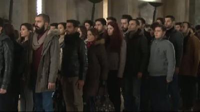 Arel Üniversitesi Ögrenci Konseyi Ata'nin Huzurunda