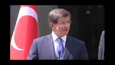 """Davutoğlu: """"Şimdi artık koşma vakti"""" - ANKARA"""