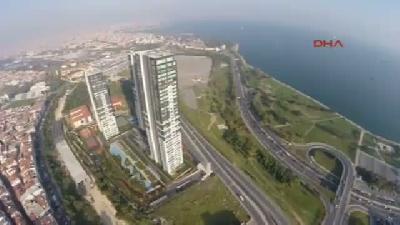 Zeytinburnu'ndaki 16/9 Kulelerinin Havadan Görüntüleri