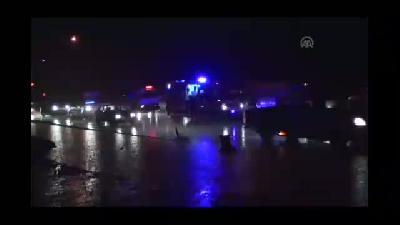 Kahramanmaraş'ta zincirleme trafik kazası: 9 yaralı