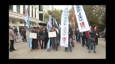 """CHP Gençlik Kollarından """"İç Güvenlik Reformu"""" protestosu - ANKARA"""