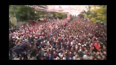 """Erdoğan: """"Kitap yakarak nasıl bir barbar olduklarını tüm dünyaya gösteriyorlar"""" - BAYBURT"""
