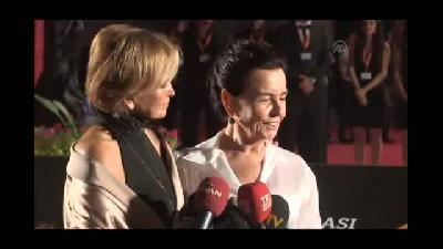 51. Uluslararası Antalya Altın Portakal Film Festivali - kırmızı halı geçişler