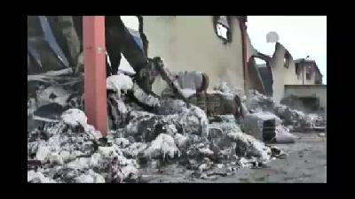 İplik fabrikası deposunda yangın - OSMANİYE
