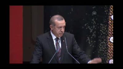 """Erdoğan:  """"10 Ağustos cumhurbaşkanlığı seçiminin galibi Recep Tayyip Erdoğan değil 77 milyon ol"""