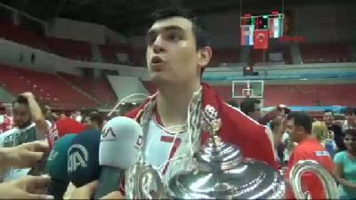 Genç Milli Basketbolcular Avrupa Şampiyonu Oldu
