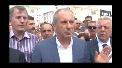 """Muharrem İnce: ''Ben bu ülkeye başbakan olmak istiyorum""""  - YALOVA"""