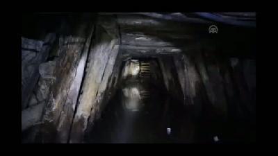 Maden ocağının içinde gaz seviyesi göstergesi - ERMENEK