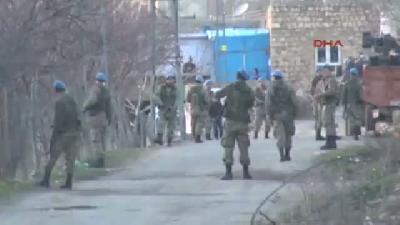 (görüntülü Haber) Mardin'de Mahalle Girişinde Pusu: 4 Yaralı