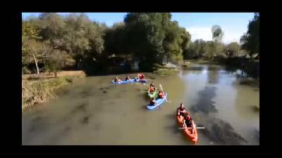 Ceyhan Nehri'nde kano keyfi - OSMANİYE