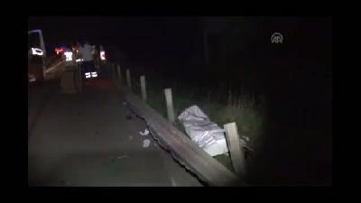 Trafik kazası: 2 ölü, 1 yaralı - DÜZCE