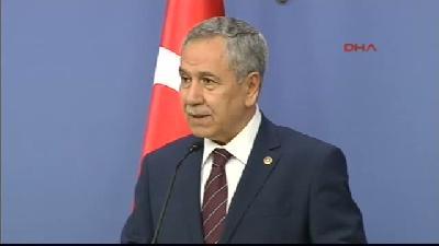 Başbakan Yardımcısı Bülent Arınç, Bakanlar Kurulu Sonrası Konuştu (açıklaması) 1