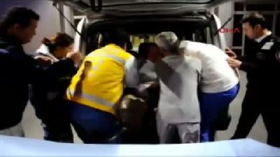 Koah Hastası 25(fotoğraflı) Kiloluk Kadın Hastaneye Zor Taşındı