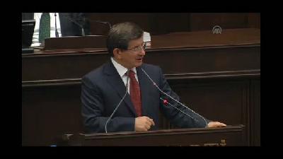 """Davutoğlu: """"AK Parti dönemsel bir parti değildir"""" - TBMM"""