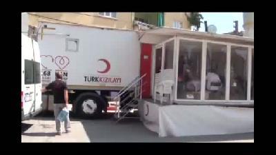 Demirci'de kan bağışı - MANİSA