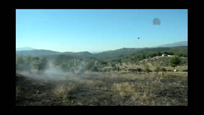 Yatağan'da orman yangını - MUĞLA