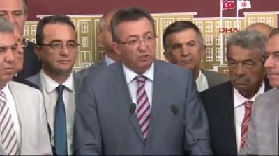 Chp'liler Meclis'te Düzenledikleri Basın Toplantısında Meclis'teki İç Tüzük Tartışmalarına Açıklık G