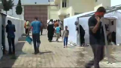 Suriye'den Kaçan 35(fotoğraflı) Filistinli Kilis'e Sığındı
