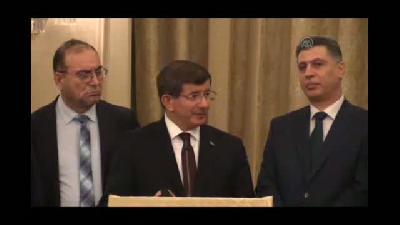 Davutoğlu: ''Irak'taki insan hakları konusu Türkmenlere emanet'' - BAĞDAT