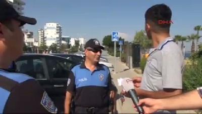 Polisin 'şaka Ceza'sı Sürücüleri Şaşırttı