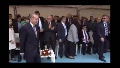 Cumhurbaşkanı Recep Tayyip Erdoğan Rize'de (1)