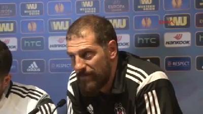 Beşiktaş Teknik Direktörü Bılıc: İstanbul'a İyi Bir Sonuçla Dönmek İstiyoruz