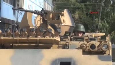 Doğubayazıt İlçe Çevresinde Zırhlı Araçlar Bekletildi