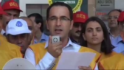 Gaziantep'te Büro- Sen Üyeleri Bordro Yaktı