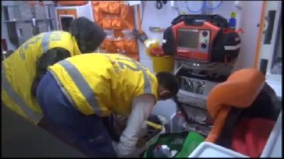Olay Yerine Giden İtfaiye Müdürü Kazada Yaralandı